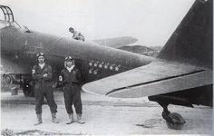Juzo Kuramoto (pilot) and Shiro Korotori (radio and radar crew). J1N Gekko Ace, all of their confired kills were B-29.