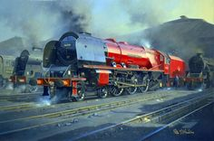 Fine Art Prints of Railway Scenes & Train Portraits - Crewe's Finest by Philip D Hawkins