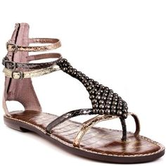Sam Edelman Women's Ginger Sandal,Rose Gold/Pewter/Gold,6 M US Sam Edelman, http://www.amazon.com/dp/B006J4737Y/ref=cm_sw_r_pi_dp_0vhfrb09KA063