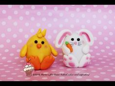 (61) Easter Chick tutorial (with surprise choc egg) - YouTube