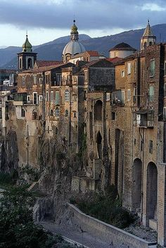 Sant'Agata dei Goti Photo by Vincenzo DI Nuzzo on Flickr  Sant'Agata dei Goti A medieval village . #Relax more with healing sounds: