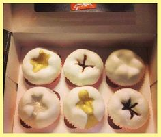 Tooth cupcakes, now complete with stains, alloys and onlays! www.prodental.com