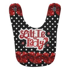 "Cute ""Little Lady"" BIB"