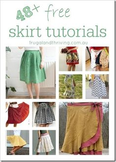 48   Free Skirt Tutorials