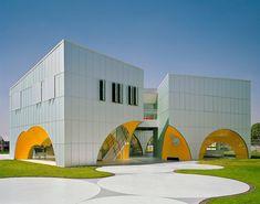 Nestlé Application Group Querétaro: Rojkind Arquitectos (Querétaro, Mexico 2009)