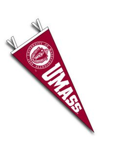 Product: University of Massachusetts - Amherst 6'' x 15'' Pennant