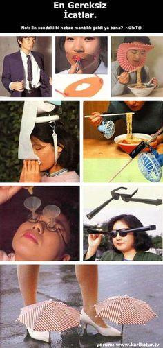 Japon arkadaşlarımızdan en gereksiz icatlar