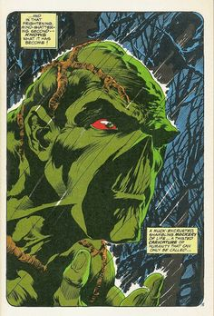 Swamp Thing by Bernie Wrightson