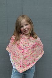 Ravelry: Basic Childrens Poncho pattern by Shaina Bilow