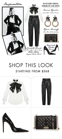 """""""To Everything There Is A Season"""" by latoyacl ❤ liked on Polyvore featuring Elisabetta Franchi, Petar Petrov, Dsquared2 and Rebecca Minkoff"""