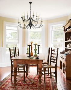 table for breakfast room