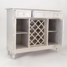 wayborn wine furniture station a modern vintage look two finish options available in crisp white or distressed ebony black finish with red undertones