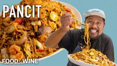 Sheldon Simeon's Pancit Filipino Noodle Dish Will Be The Star of Your Next Cookout | Chefs At Home - YouTube