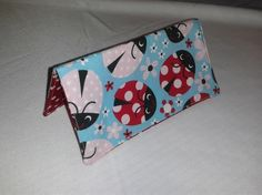 Lady bug checkbook cover by MLCCreations33 on Etsy