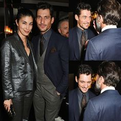 HQ - #DavidGandy attends a dinner hosted by Tommy Hilfiger & Dylan Jones to celebrate London Collections: MEN 2016 via @ohmygandy
