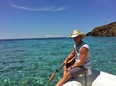 St John's own Kenny Chesney soaking up the sun, sand and sea!