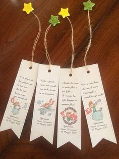 Creative Bookmarks, Diy Bookmarks, Prince Birthday Party, 1st Birthday Outfits, Little Prince Party, The Little Prince, Party Kit, Diy Party, Pop Up Invitation