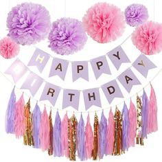 Pink Gold Birthday, Gold Birthday Party, Gold Party, Birthday Ideas, Happy Birthday, 15th Birthday, Birthday Pictures, Purple Party Decorations, Bridal Shower Decorations