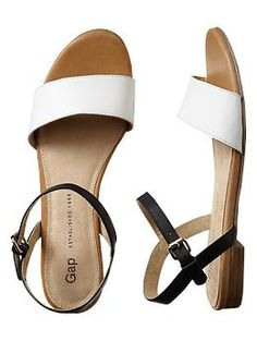 Need these for the summer. Leather sandals | Gap