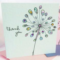 pretty card by Rebecca Lancaster