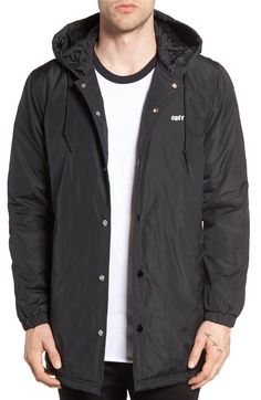 Main Image - Obey Singford Hooded Parka
