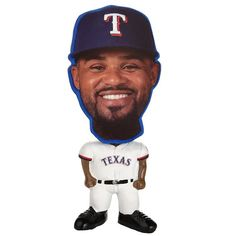 Forever Collectibles Texas Rangers Prince Fielder Figurine, Multicolor