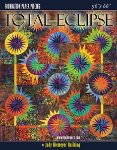 Canton Village Quilt Works: Shop | Category: All Patterns | Product: Total Eclipse