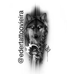 Arte por @edertattoovieira artista Brasileiro Facebook Éder Dias Vieira whats:005549 9998441-52 Tattoo On, Forearm Tattoo Men, Future Tattoos, Tattoos For Guys, Full Arm Tattoos, Hand Tattoos, Wolf Girl Tattoos, Tattoo Studio, Mythology Tattoos