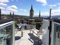 Filming from the rooftop of the penthouse apartment at maths Widder Hotel Zurich Switzerland. You can also see the lake and the picture postcard skyline. Leading Hotels, Penthouse Apartment, Luxury Rooms, Picture Postcards, Pent House, Zurich, Maths, Rooftop, Switzerland
