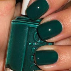 #Dark #Essie #Green #Nail #Polish