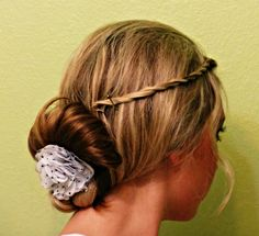 a new way to do my hair!