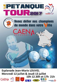 Le Pétanque Tour à CAEN - Basse-Normandie - ARTICLES sur la pétanque