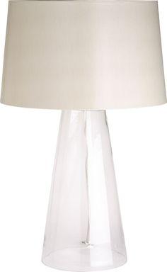 bedside lamps_Zak Table Lamp_C Table Desk, Table Lamp, Bristol Houses, King Bedroom, Bedside Lamp, Camden, Light Table, Crate And Barrel, Hgtv
