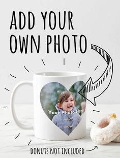 Personalized Photo Gifts - Coffee Mug. Heart-shaped Photo - Discount with code on website Christmas Photos, Family Christmas, Christmas Holidays, Christmas Gifts, Personalized Photo Gifts, Customized Gifts, Retro Gamer, Newlyweds, Photo S
