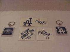 LOS ANGELES DODGERS (MLB) - 2 Acrylic KEY CHAINS (Dodger Stadium - 50th Anniversary) / 3 - Different DODGERS Temporary TATTOOS eaglecollector83,http://www.amazon.com/dp/B00BATZYTM/ref=cm_sw_r_pi_dp_L.thtb0ASB0MMT95