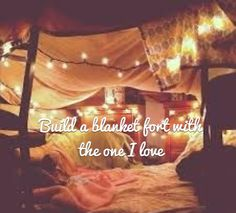 I Forgot How Much Fun Blanket Forts Are Well Definitely Use Christmas Lights Next Time Instead Of Our Camping