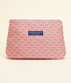 Kappa Delta make-up bag from Vineyard Vines.
