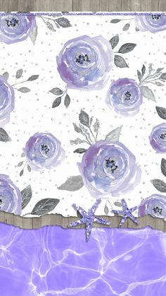 Ideas Flowers Wallpaper For Phone Pattern Posts Best Flower Wallpaper, Summer Wallpaper, Beach Wallpaper, Purple Wallpaper, Cute Wallpaper Backgrounds, Cute Wallpapers, Iphone Wallpaper, Beautiful Flower Tattoos, Hello Kitty Wallpaper