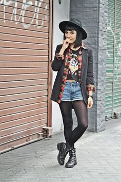 Blazer over shirt | Fashion In Da Hat