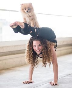 Sofia Dossi! Such an amazing Contortionist. Definitely an inspiration!