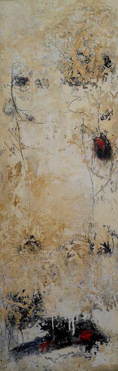 PETRA LORCH | ABSTRAKTE MALEREI | www.lorch-art.de | ohne Titel | Mischtechnik auf Leinwand | 40×120 Petra Lorch | Freischaffende Künstlerin | mail@lorch-art.de