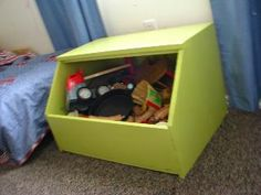 I really like this toy bin! | Do It Yourself Home Projects from Ana White