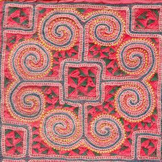 Hmong embroidery by Mimi_K, via Flickr