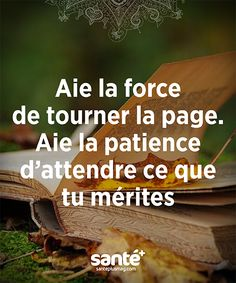 Discover recipes, home ideas, style inspiration and other ideas to try. Positive Mind, Positive Attitude, Positive Thoughts, Words Quotes, Life Quotes, Peace Quotes, French Quotes, Some Words, Positive Affirmations