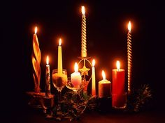 No christmas without candles and romance