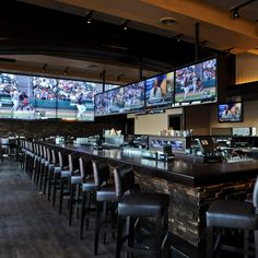 6 Sports Bar Interior Design For March Madness Ksc Restaurant Bar Pub Ideen Boston Sports Sport Bar