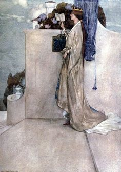 William Russell Flint - Princess Ida or Castle Adamant' by W. S. Gilbert. Published 1912 by G. Bell & Sons