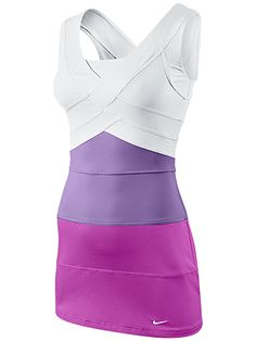 Bandage hides all the bulge! This Nike dress is so cute I want it to go out in… Nike Tennis Dress, Tennis Wear, Tennis Clothes, Tennis Outfits, Nike Clothes, Tennis Fashion, High Fashion, Nike Dresses, Netball Dresses