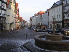 Street in Bad Wildungen