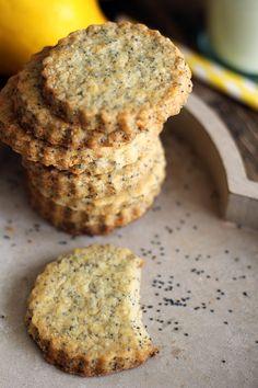 Maślane ciasteczka cytrynowe z makiem… – brunetkawkuchni Muffin, Cooking, Breakfast, Food, Kitchen, Morning Coffee, Essen, Muffins, Meals